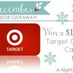 {December Sponsor Giveaway} $100 Target Gift Card