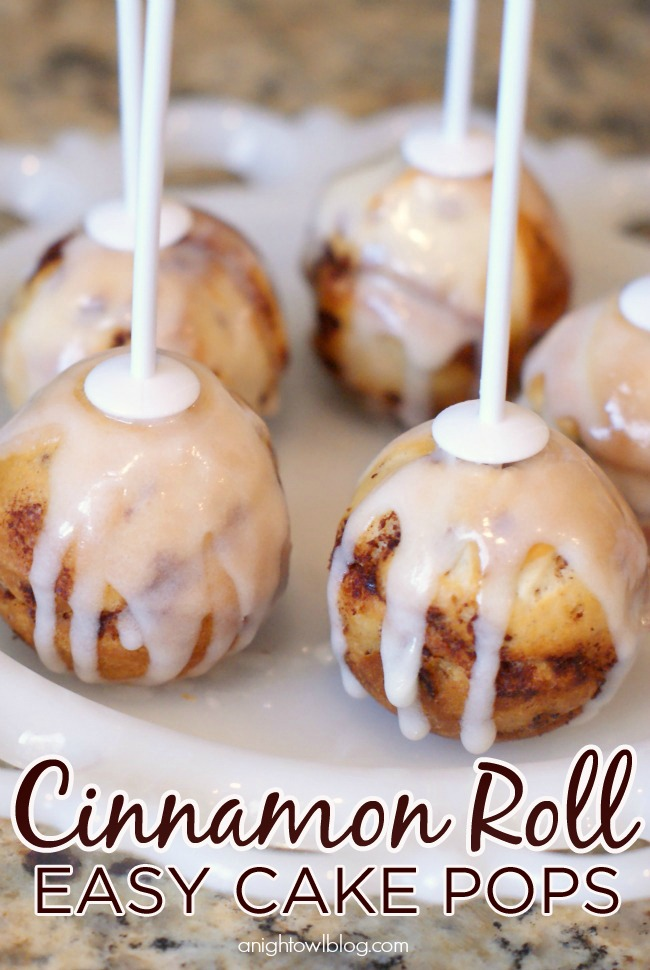Cinnamon Roll Pops Recipe — Dishmaps