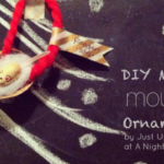 DIY Merry Mouse Ornament