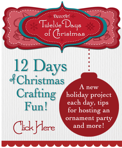 DecoArt 12 Days of Christmas Crafting Fun!