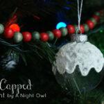 DecoArt Snow-Capped Ornament