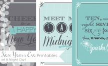 Free New Years Eve Printables at @anightowlblog