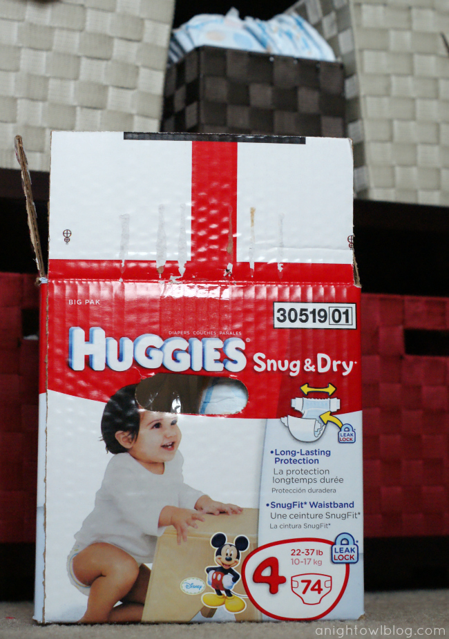 Huggies Snug & Dry Diapers #HuggiesWalmart
