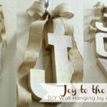 {Project Home} Joy to the World DIY Wall Hanging