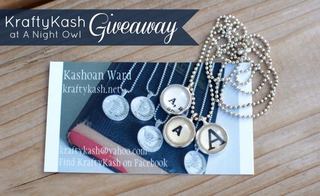 KraftyKash Giveaway at @anightowlblog #kraftykash