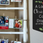{Project Home} A Ladder Christmas Card Display