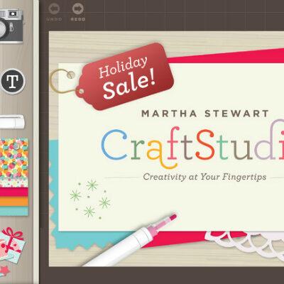 Martha Stewart Craft Studio for the iPad