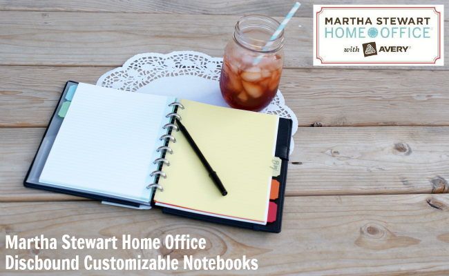 martha stewart home office discbound notebook a night owl blog