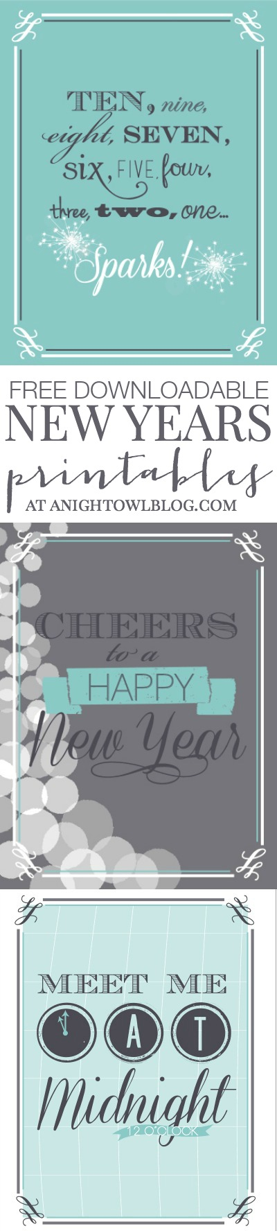 free downloadable new years eve printables at anightowlblogcom