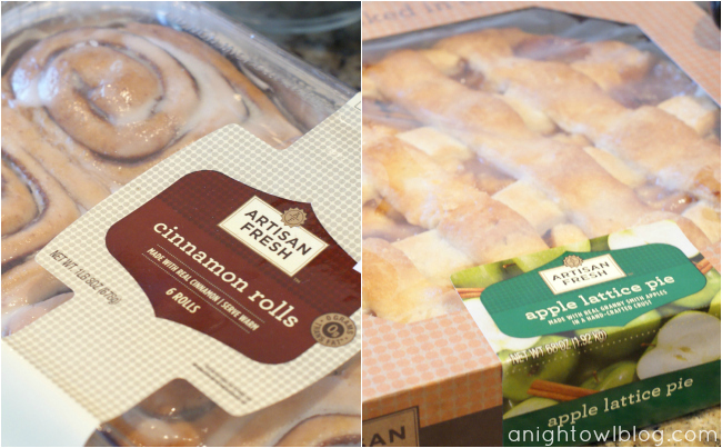 Artisan Fresh Cinnamon Rolls and Apple Lattice Pie at Sam's Club #DeliciousPairings