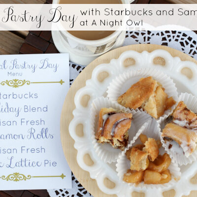 National Pastry Day with Sam's Club and Starbucks #DeliciousPairings