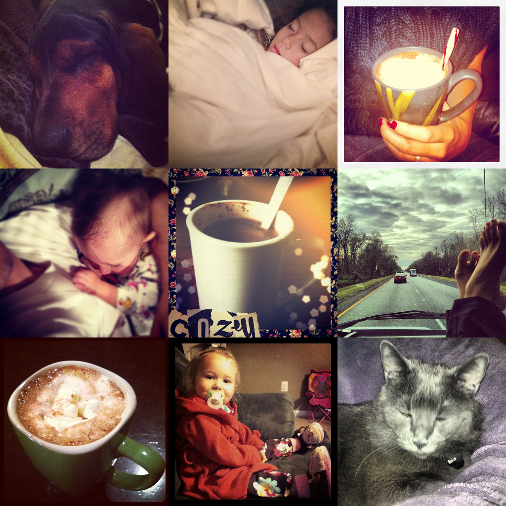 #anoweekend instagram hashtag project - COZY