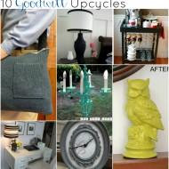 {Thrifty Thursday} 10 Terrific Goodwill Upcycles