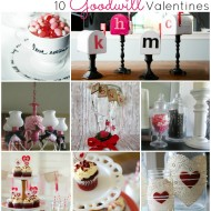 10 Goodwill Valentines Projects