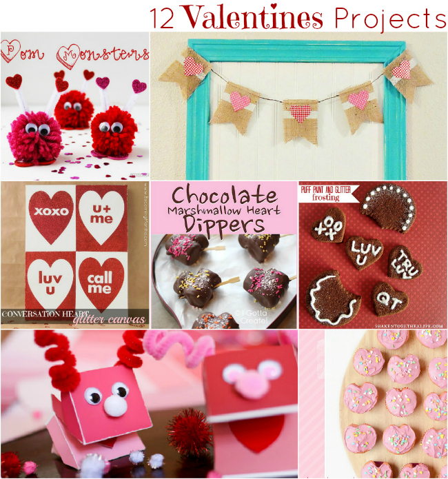 12 Creative and Inspiring Valentines Projects
