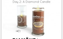 A Night Owl Blogiversary Giveaway - Day 2 - Diamond Candles