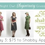 #ANOBlogiversaryGiveaway :: Day 3 :: $75 to Shabby Apple