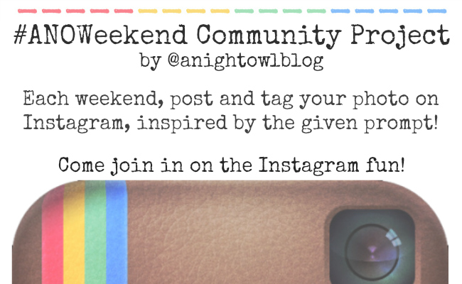 The #ANOWeekend Community Project
