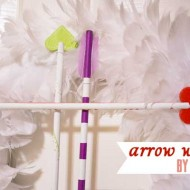 {14 Days of Valentines} Arrow Wreath