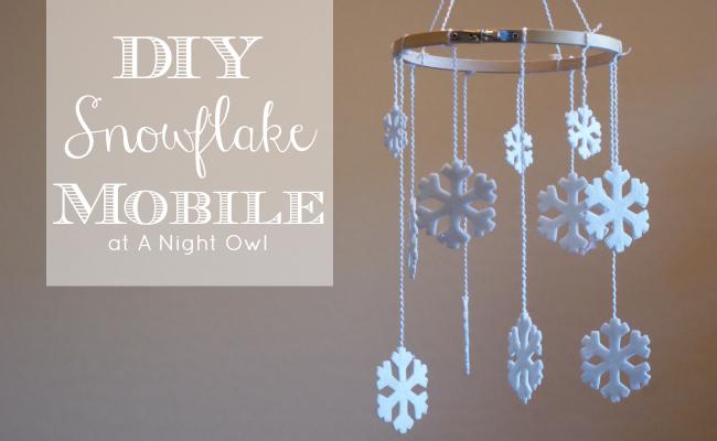 Diy christmas mobile project
