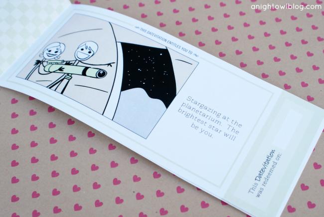 Datevitation - Custom #LoveCoupons and e-Dates at @anightowlblog