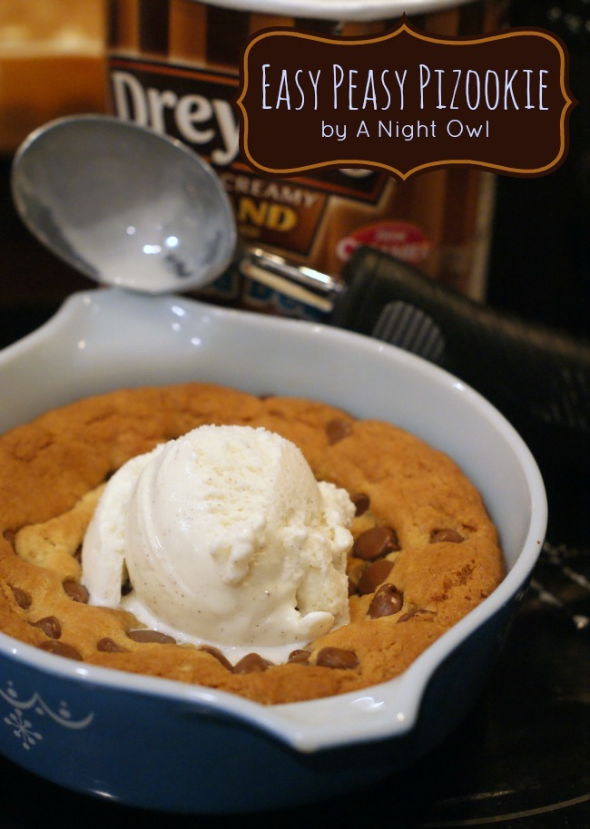 How to make your own BJ's or Oregano's Pizookie (Pizza Cookie) at home!