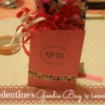 {14 Days of Valentines} Valentine's Day Goodie Bag