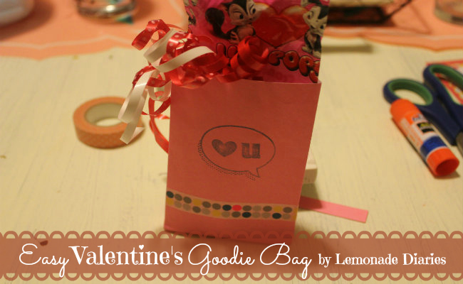 Valentine's Day Goodie Bag by Lemonade Diaries