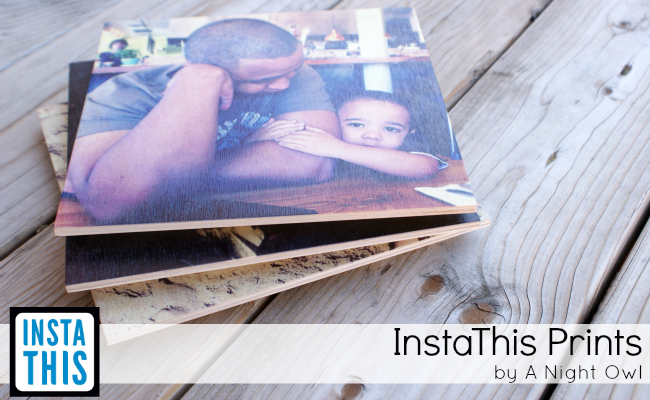 Print your Instagram photos on wood with InstaThis - www.anightowlblog.com