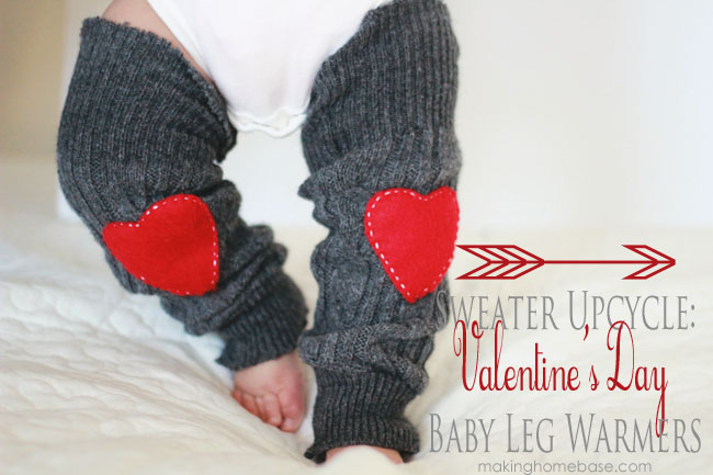 valentines baby leg warmers by making home base