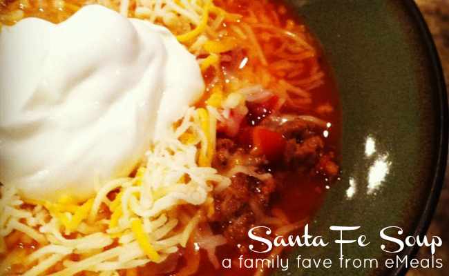 Santa Fe Soup Recipe by eMeals - Meal Planning Made Simple