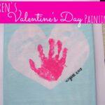 {14 Days of Valentines} Children's Valentine's Day Painting