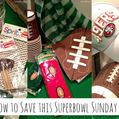 Fun tips on how to save money planning a party for Superbowl Sunday! { anightowlblog.com } #ThriftyThursday #Superbowl #Party