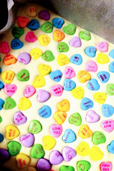 Sweetheart Fudge - easy and delicious fudge that's perfect for Valentine's Day!