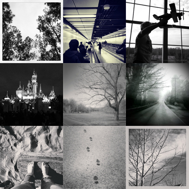 ANOWeekend Instagram Project Features - Black and White