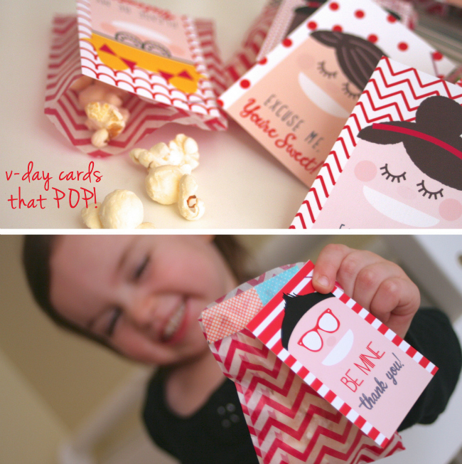 Cool Kids Valentine's Day Gifts and FREE Printables - by Just Us Three at www.anightowlblog.com
