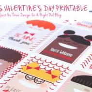 Cool Kids Valentine's Day Printables
