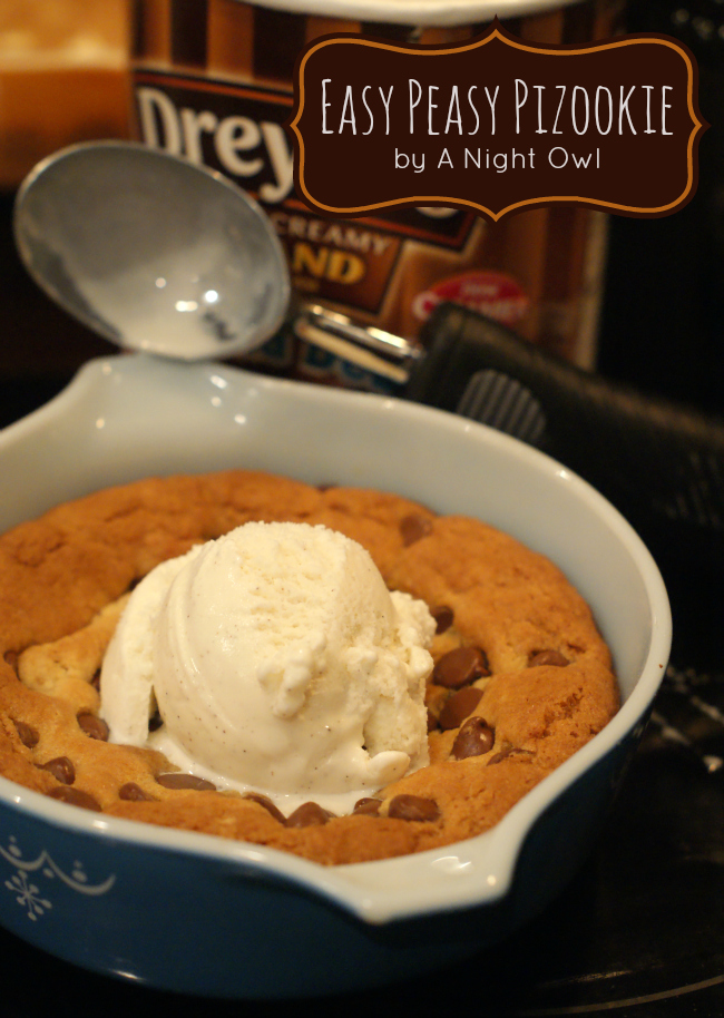 ... or Oregano's Pizookie (Pizza Cookie) at home by { anightowlblog.com