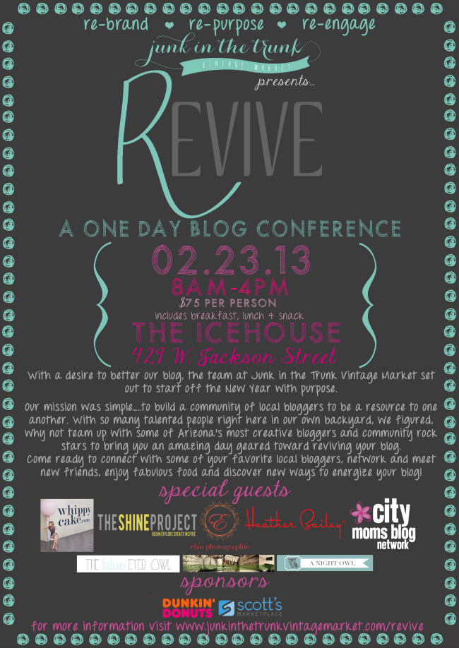The Revive Blog Conference - Feburary 23rd!