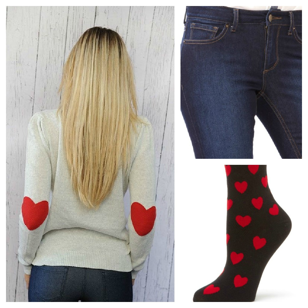 What to Wear on Valentines Day - Cute Outfit Options by Through the Eyes of the Mrs.