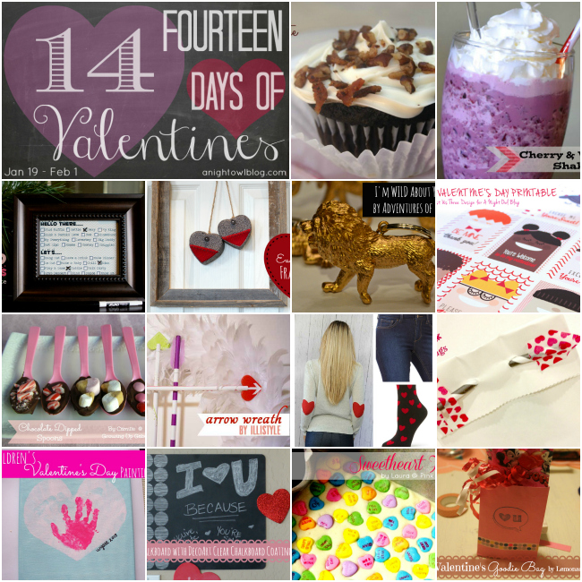 14 Days of Valentines - 14 Days of Valentine's fun! #valentines