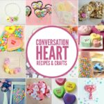 50 Sweet Conversation Heart Recipes and Crafts