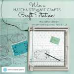 Martha Stewart Craft Station Giveaway #ACraftersDream