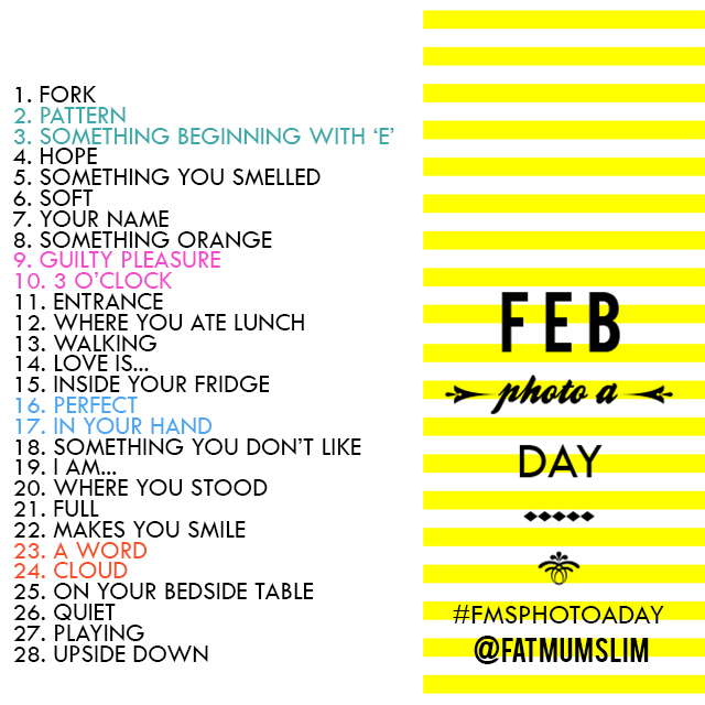 February #FMSPhotoaday by @FatMumSlim