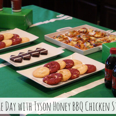 Game Day with Tyson Honey BBQ Chicken Strips #MealsTogether