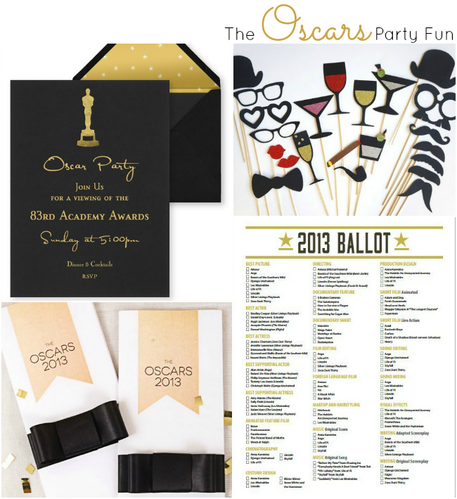 The Oscars - Party Fun Ideas