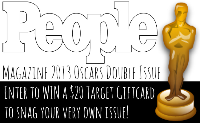 People Magazine 2013 Oscars Double Issue + Giveaway