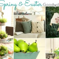 10 Spring & Easter Goodwill Projects