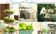 Spring and Easter Goodwill Projects feature