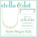 Stella & Dot Giveaway | Megan Kilis, Independent Stylist